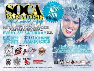Soca Paradise July